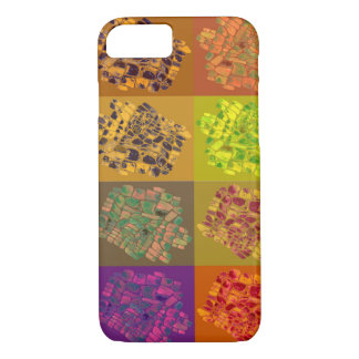 mosaics in color squares iPhone 8/7 case