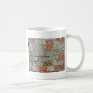 Mosaics made of large stone blocks of marble coffee mug