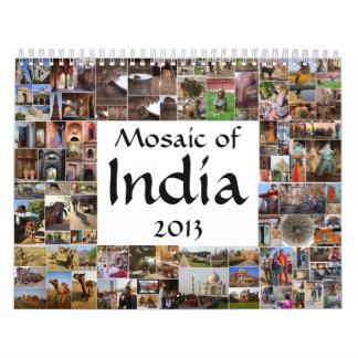 Mosaics of India Calendar