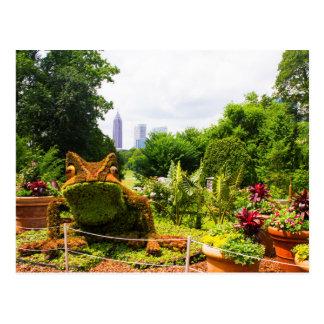 Mosaiculture Frog Postcard