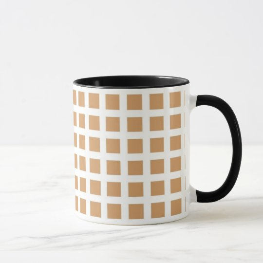 Mosaïk - Mug - Colour: Cream