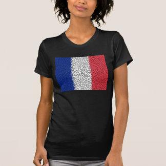 Mosaique Drapeau Francais Playeras