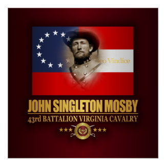 Mosby (Southern Patriot) Poster