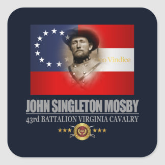 Mosby (Southern Patriot) Square Sticker