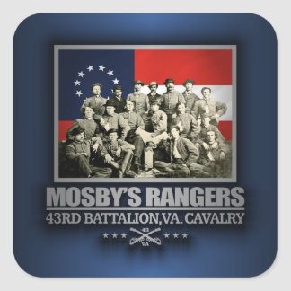 Mosby's Rangers 2 Square Sticker