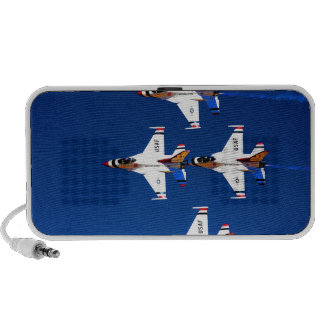 Mosca a los jets de los militares del salón aeroná iPod altavoces