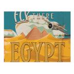 Mosca allí - Egipto Postales