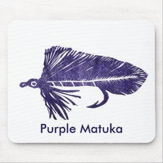 """Mosca clásica Mousepad de la trucha de """"Matuka"""