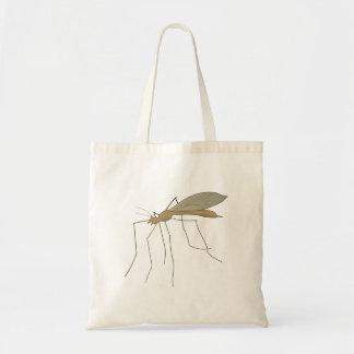 mosca de grúa del mosquito bolsas de mano