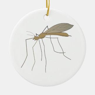mosca de grúa del mosquito adornos de navidad