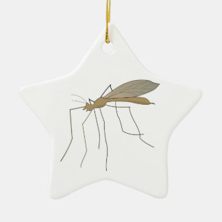 mosca de grúa del mosquito ornaments para arbol de navidad