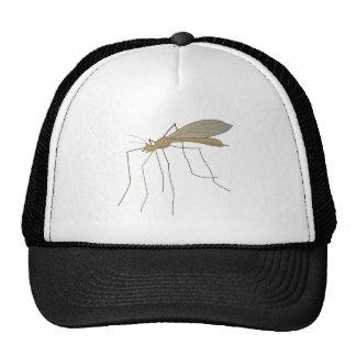 mosca de grúa del mosquito gorras de camionero