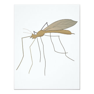 mosca de grúa del mosquito comunicado personalizado