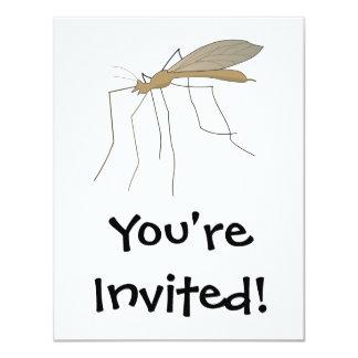 mosca de grúa del mosquito anuncio