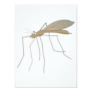 mosca de grúa del mosquito invitaciones personales