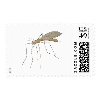 mosca de grúa del mosquito franqueo