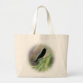 Mosca de la damisela bolsa de mano
