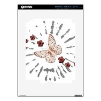 Mosca de la mariposa ausente iPad 3 pegatina skin
