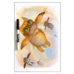 Mosca de la mosca de la mosca del conejito pizarras blancas de calidad