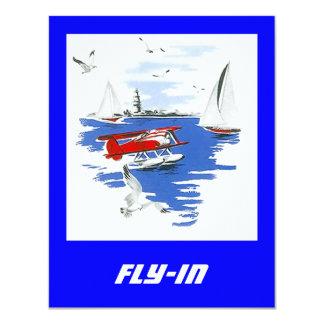 Mosca de la reunión de Floatplane del hidroavión Comunicados Personales