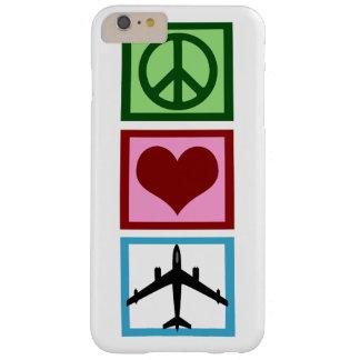 Mosca del amor de la paz funda para iPhone 6 plus barely there