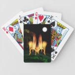 Mosca del fuego cartas de juego