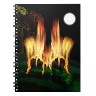 Mosca del fuego libro de apuntes
