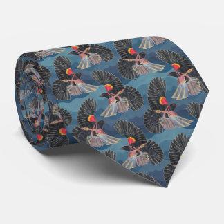 Mosca del mirlo corbata personalizada