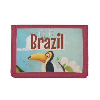 Mosca del vintage al poster del viaje del Brasil T