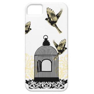¡Mosca! El pájaro bonito y elegante toma el ala. Funda Para iPhone SE/5/5s