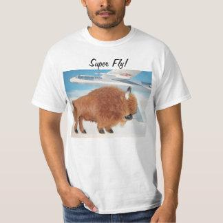 mosca estupenda Bruce la camisa del búfalo