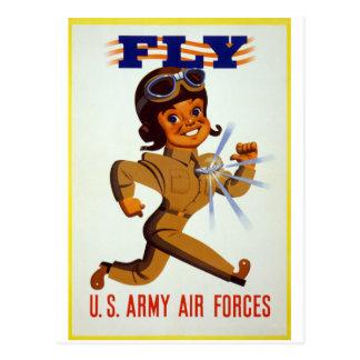 Mosca - fuerzas aéreas del ejército americano postal