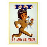 Mosca - fuerzas aéreas del ejército americano tarjeta postal