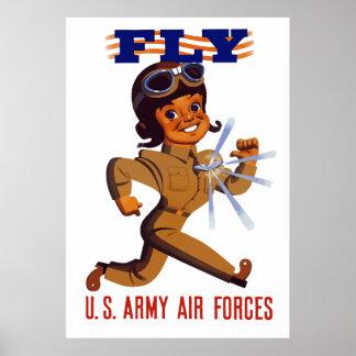 MOSCA -- Fuerzas aéreas del ejército Póster