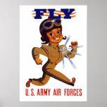 MOSCA -- Fuerzas aéreas del ejército Posters