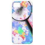 Mosca magnificada de Fluro iPhone 5 Carcasas