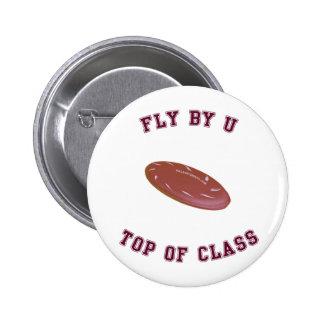 Mosca por el disco volador de U Pins