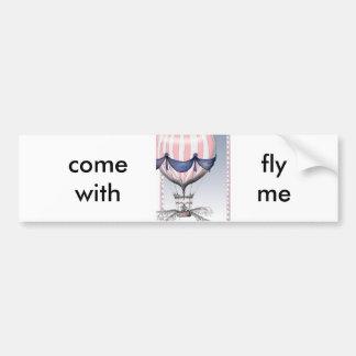 mosca venida conmigo, fernandes tony pegatina para auto