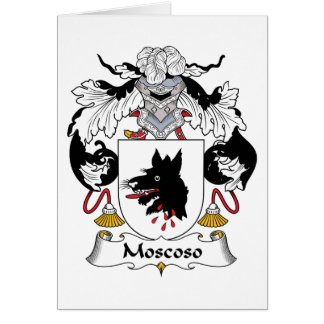 Moscoso Family Crest Cards