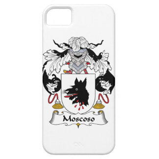 Moscoso Family Crest iPhone 5 Case