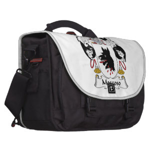 Moscoso Family Crest Laptop Commuter Bag