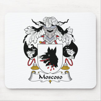 Moscoso Family Crest Mouse Pad