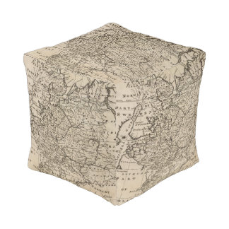 Moscovy, Russia Cube Pouf
