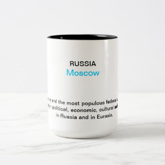 Moscow 2013 Two-Tone coffee mug