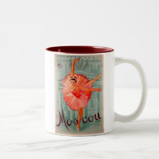 Moscow Ballet Two-Tone Coffee Mug