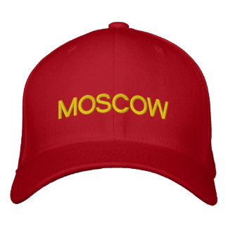 Moscow Cap Embroidered Baseball Caps