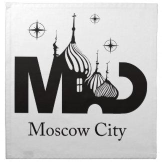 Moscow City Napkin