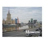 Moscow cityscape postcards