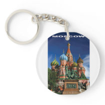 moscow color keychain