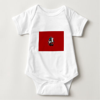 Moscow Federal City Flag Baby Bodysuit